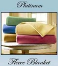 Platinum Fleece Blankets